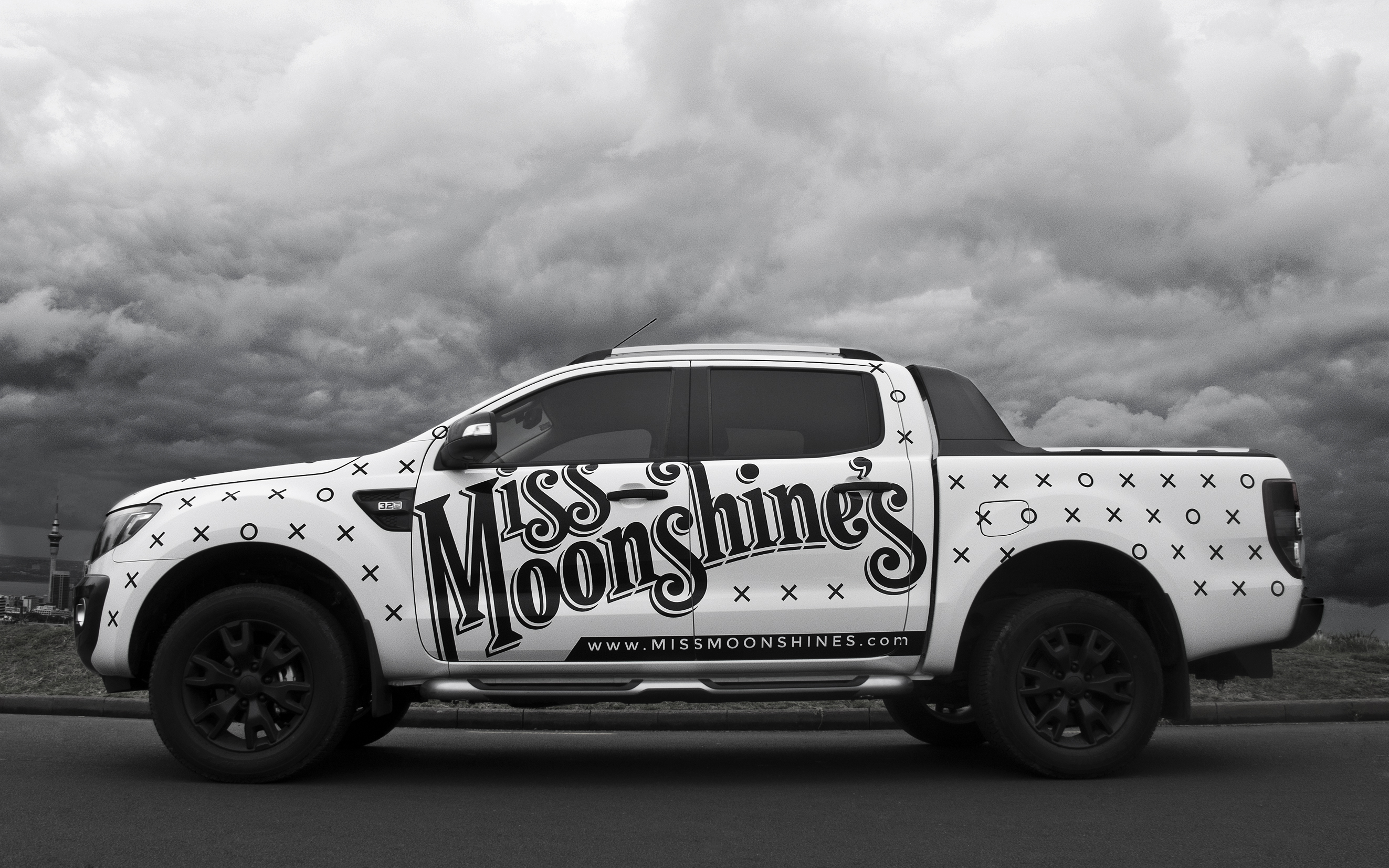 Miss Moonshine's Car Vinyl Design